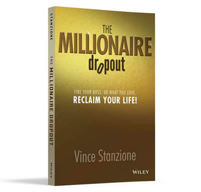 Vince Stanzione Vince Stanzione is a UK-born self-made multi-millionaire, active in telecommunications, publishing and financial trading. He is the author of Making Money From Financial Spread Trading, Making Money From Global Financial Markets and How To Stop Existing and Start Living.